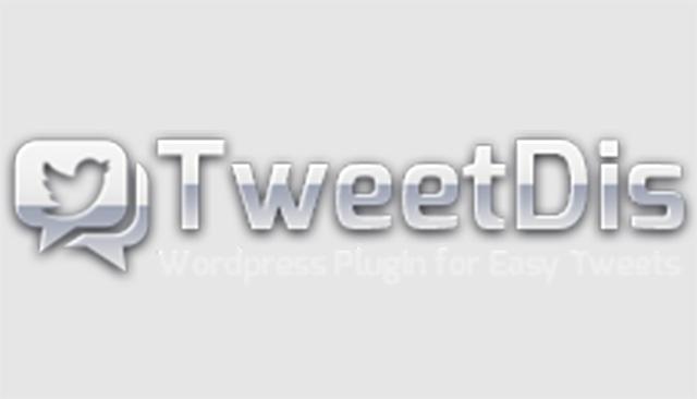Tweet Dis - Plugin pulsante Tweet Me
