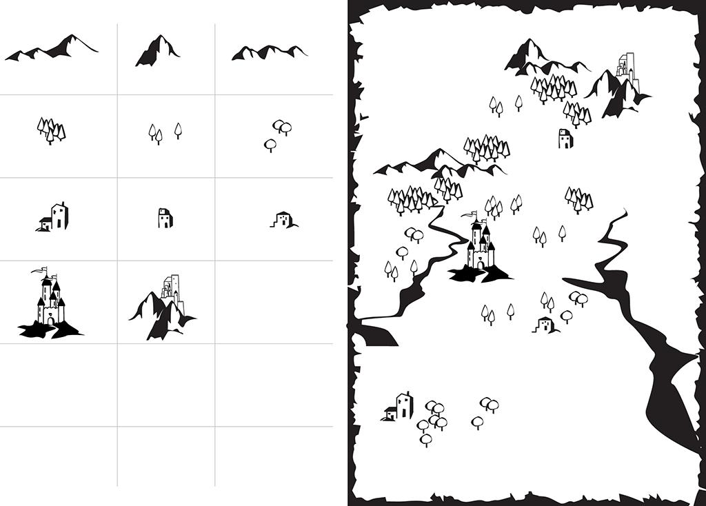 Mappa fantasy crea il tuo mondo fantastico giovanni ronci for Disegnare una piantina