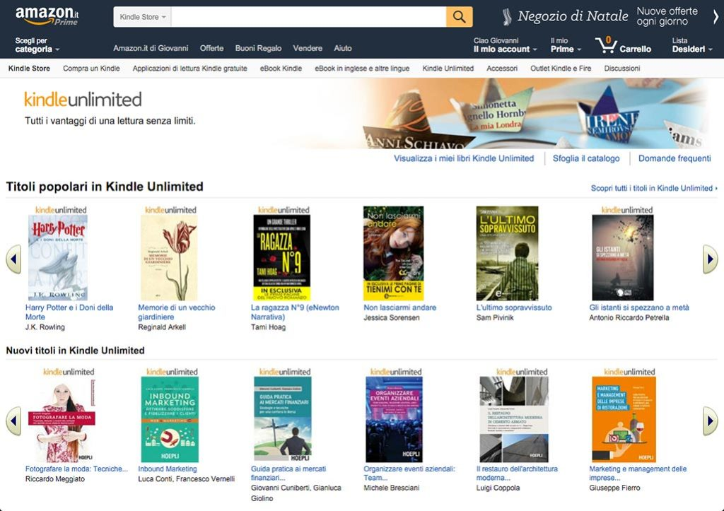 Kindle Unlimited Store