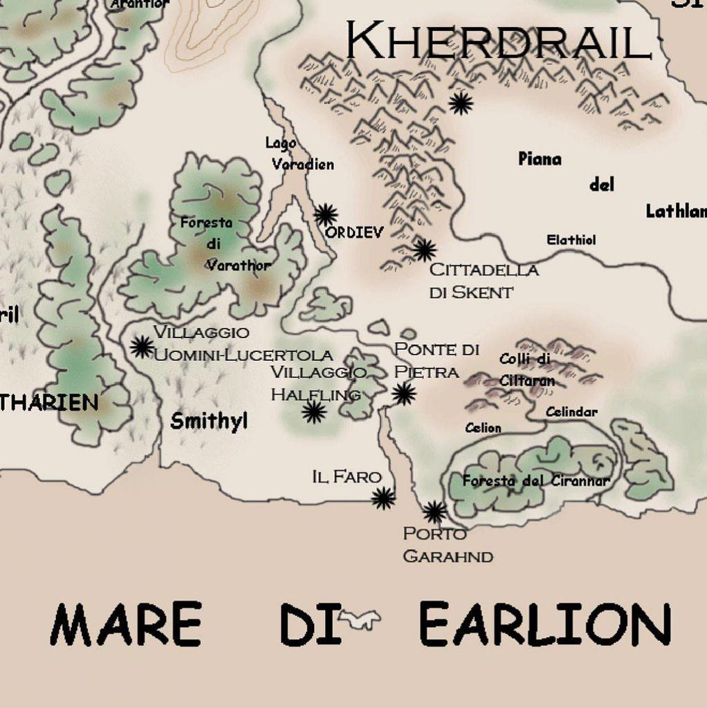 Mappa fantasy - Porto Garahnd
