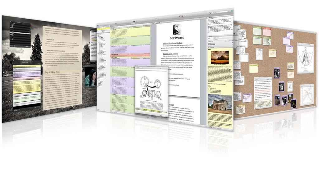 Scrivener - programma per scrivere