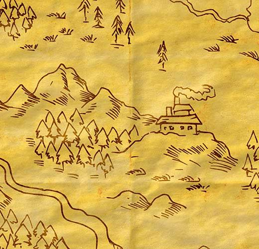Creare una mappa fantasy