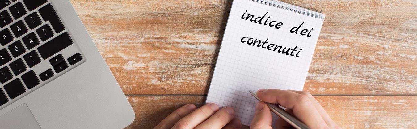Indice dei contenuti con Word