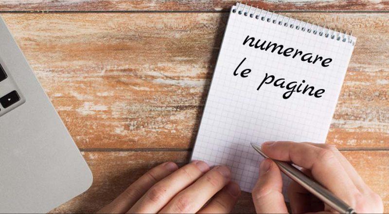 Come numerare le pagine in Word