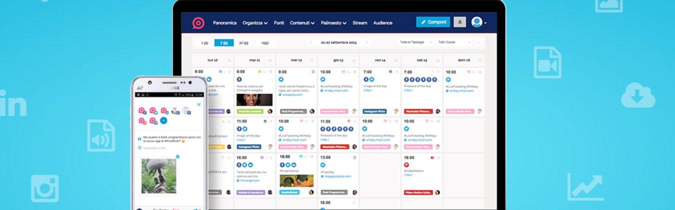 postpickr - gestione social network