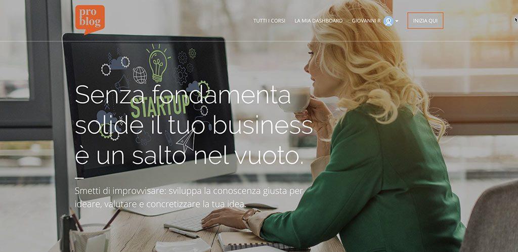 Corso di formazione - Come progettare il tuo business online