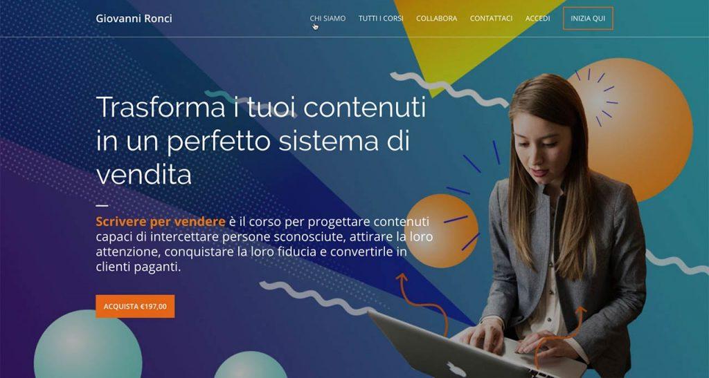 Creare business online - Corso contenuti