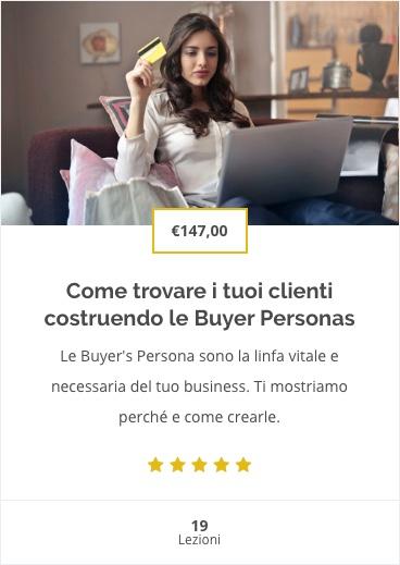 Corso Buyer Personas
