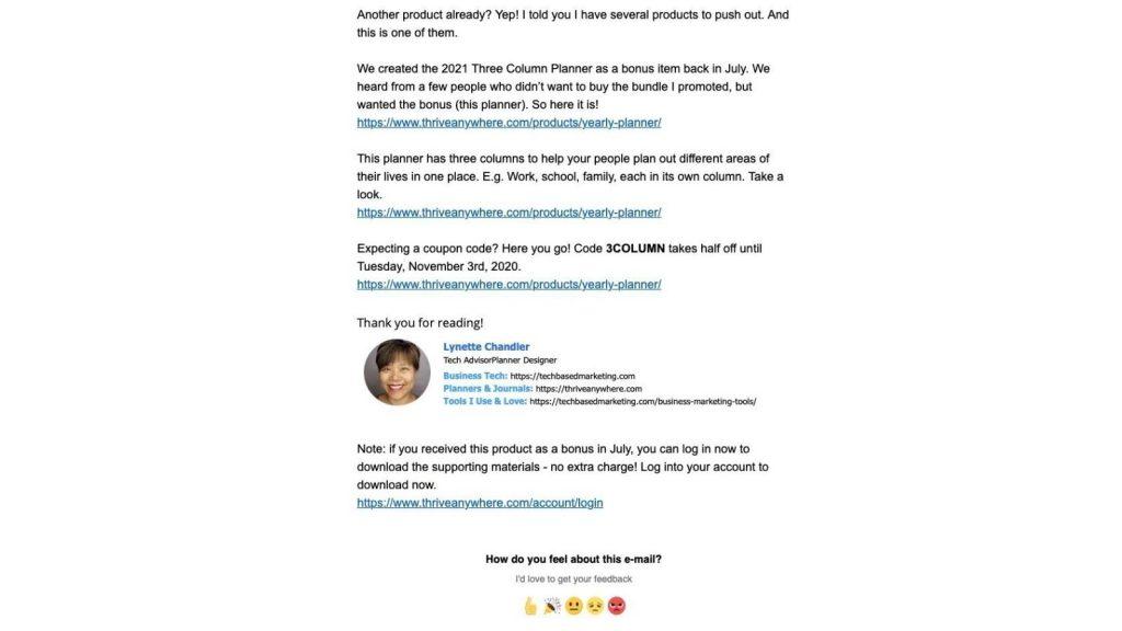 Newsletter che convertono