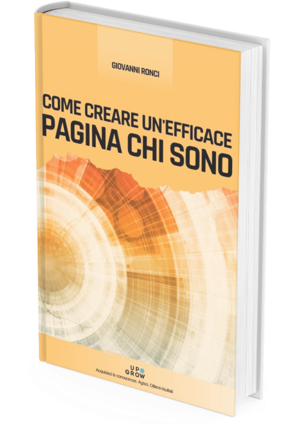 action book pagina chi sono about page