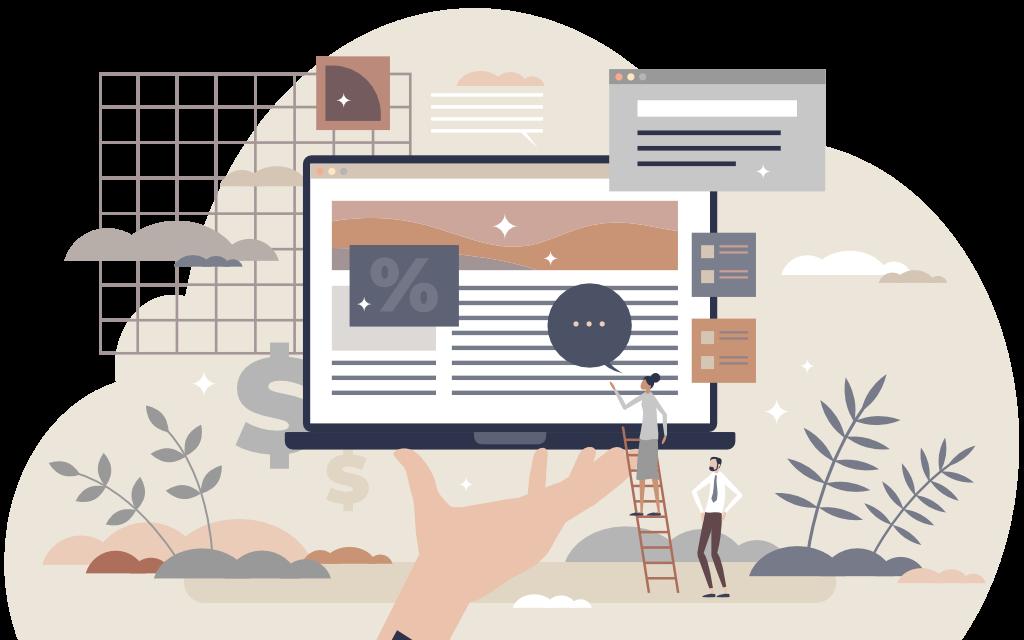 Creazione blog e siti web